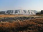 Geyser Hill le matin